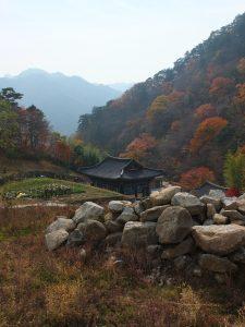 Autour du temple de Haeinsa.